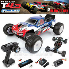 Associated 7058C 1/10 RC10T4.3 Brushless RTR Stadium Truck LiPo-Combo 2WD RWB