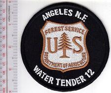 Hot Shot Wildland Fire Crew California Water Tender 12 Angeles National Forest U
