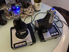Logitech Saitek X 52 Joystick Flight Control System defekt