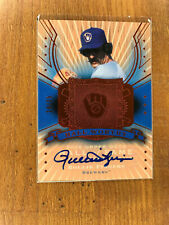 2005 HALL OF FAME ROLLIE FINGERS HALL WORTHY AUTOGRAPH /25