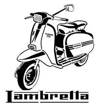 high detail airbrush stencil lambretta scooter FREE UK POSTAGE