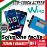 LCD+TOUCH SCREEN DISPLAY PER WIKO FEVER 4G NERO ASSEMBLATO VETRO SCHERMO TOP 24H