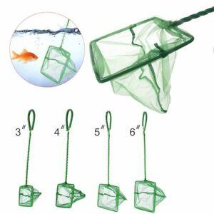 Portable Practical Funnel-Shaped Fishing Nets Aquarium Square Fish Tank