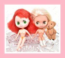 ❤️Authentic Littlest Pet Shop LPS BLYTHE #B2 #B6 Girl Doll Lot No Clothes❤️