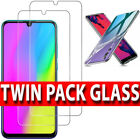 For Huawei P30 Lite P Smart P20 Pro TEMPERED GLASS SCREEN PROTECTOR / Case Cover