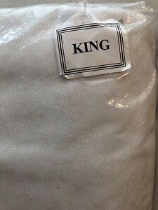 Linden Street 78 X 80 King Size Bed Skirt Grey Solid Straight New