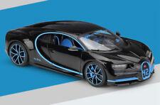 Bburago 1:18 Bugatti Chiron Diecast Metal Model Roadster Car Black