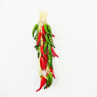 1 Strand Artificial Vegetables Garland Fake Chilies Peppers Home Decorations