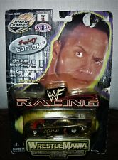 2000 Road Champs WWF Racing Wrestlemania Fantasy Edition The Rock No. 1