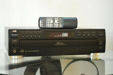 JVC XL-F254 5 disc Audio CD player carousel changer Excellent 1 BIT DAC w Remote