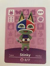 Stinky Amiibo Card