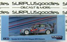 Tarmac Works 2020 Hobby64 Hyundai i30 N Tcr 2019 Malaysia Champion Luca Engstler