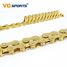 MTB Bicycle Chain Gold 8 Speed 116L Mountain Road Bike Chain 24Speed Solid Palte