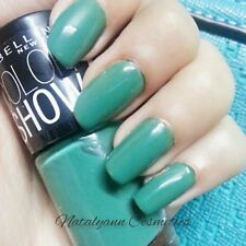 Maybelline New York Color Show/ Color Drama  Nail Polish NEW  SHADES - FREE POST