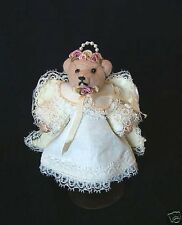 Vintage but NEW Handmade Marilyn Wade Mama's Babies Miniature Jointed Bear NWT