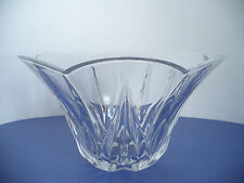 "Lenox Crystal Glass Scallop Bowl Approx 5 1/2"" T"