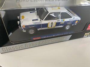 Sunstar 1:18 4435 Ford Escort Mk.11 RS1800 Diecast 1977 Rally Safari Winner Mint