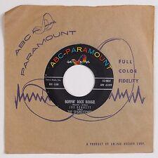 JOE BENNETT & SPARKLETONES: Boppin' Rock Boogie ABC Stock NM- Rockabilly 45 Hear