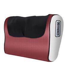 Heating Shiatsu Kneading Massager Pillow Neck Shoulder Leg Back Pain Relieve