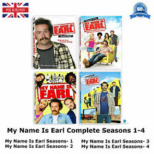 MY NAME IS EARL Series 1-4 Complete Season 1 2 3 4 New and Sealed Region 2 DVD