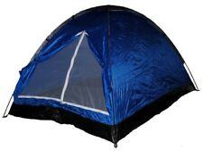 Shop4Omni 7 X 5 Feet Two Person Backpackers Festival Camping Dome Tent - Blue/Gr