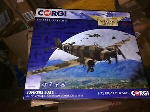 Corgi AA36908 - Ju-52 - 1/72 - Merkur Crete 1941