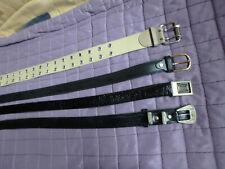 Lot de 3 ceintures cuir pour homme, une offerte
