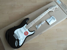 FENDER SQUIER  STRATOCASTER AFFINITY BLACK MN chitarra elettrica in vendita,new