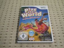 Play the world pour nintendo wii et wii u * OVP *