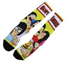 Bobs Burgers Fashion Footwear Sublimated Socks #C065