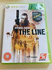 Spec Ops: The Line (Microsoft Xbox 360, 2012) - Completo con Manual