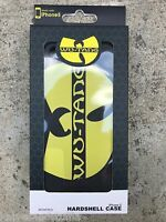 New Wu Tang Clan W Logo Black iPhone SE 5s 5 Two Piece Hardshell Case Cover
