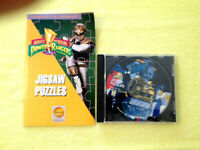 "Mighty Morphin Power Rangers ""Jigsaw Puzzles"", Interactive Windows/Mac PC, 1995"