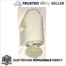 CIGARETTE LIGHTER OUTLET 12 24 Volt CARAVAN Heavy Duty Plug DC 4×4 POWER -WHITE
