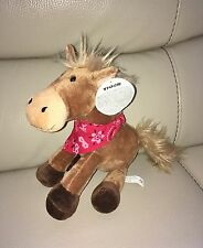 Lovely Official Tiger Store Pony / Horse Soft Toy with tags