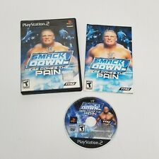 WWE SmackDown Here Comes the Pain (Sony PlayStation 2, 2003) PS2 Video Game! CIB