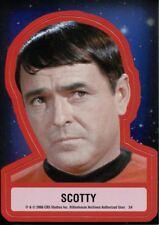 Star Trek TOS 40th Anniversary Series 2 Star Trek Stickers Chase Card S4