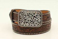 Ariat Floral Crystal Buckle - Accessories Belt Kids - A1303602