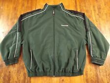 Mens (XL) REEBOK CLASSIC UK Full Zip L/S 2Pocket Embroidered Logo Jacket