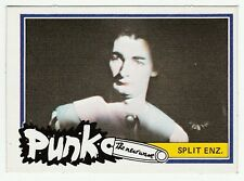 1970s Monty Gum Punk Pop Star Card New Zealand Rock Pop Group Split Enz Make up