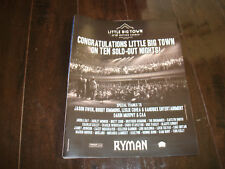 """LITTLE BIG TOWN 2017 congrats ad for """"Ten Sold Out Nights"""" at the Mother Church"""