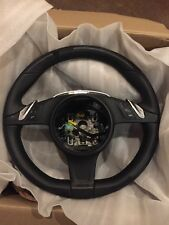 1e110b517a5b PORSCHE 2013 PANAMERA GTS BLACK.LEATHER MULTI FUNCTION STEERING WHEEL