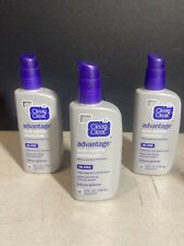 CLEAN - CLEAR ADVANTAGE Acne Control Moisturizer Oil-Free 4 oz (Pack of 3)