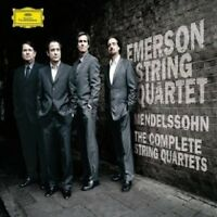 EMERSON STRING QUARTET - MENDELSSOHN-THE COMPLETE STRING QUARTETS (GA) 4 CD NEU