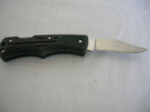 """Vintage Schrade Imperial Ireland Knife single folding blade Stainless 4"""" closed"""