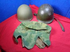 New listing Vintage Us Army Helmet Front Seam with Insert & Cover. Ww2?