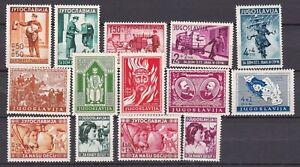 Yugoslavia - 1940 - collection - MH
