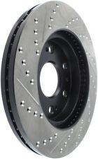 Disc Brake Rotor-4WD, Rear Drum Front/Rear-Left Stoptech 127.66057L