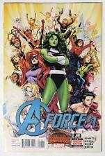 ESZ5824. A-FORCE #1 Marvel Comics 7.5 VF- (2015) 1st Appearance of SINGULARITY `