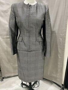 Ralph Lauren Purple Label NWT houndstooth Suit silk/wool Sz 10 $3250